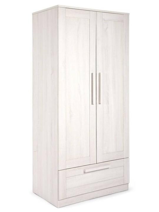 Atlas Wardrobe - Nimbus White image number 1