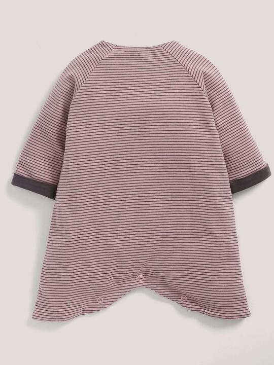 Pink Jersey Romper image number 2