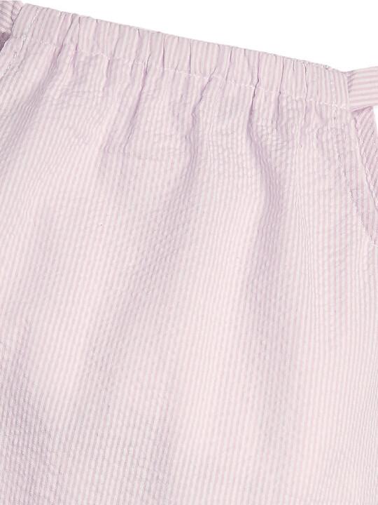 Embroidered Romper - Pink image number 3