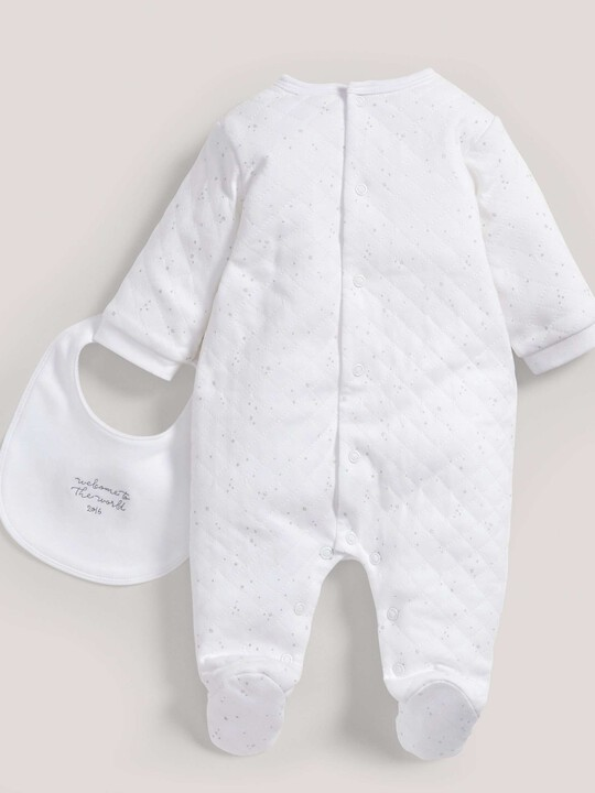 Quilted All-in-One & Bib image number 2
