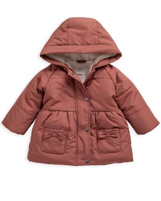 Pink Puffa Coat