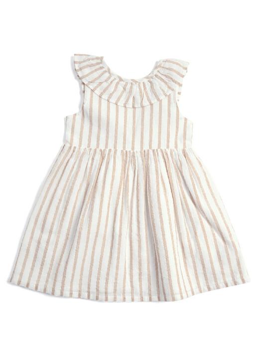 Metallic Striped Dress image number 1