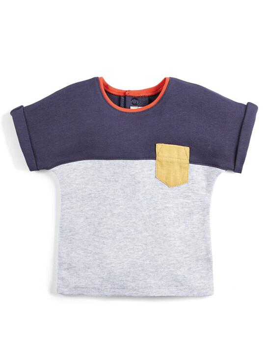 Colour Block T-Shirt image number 1