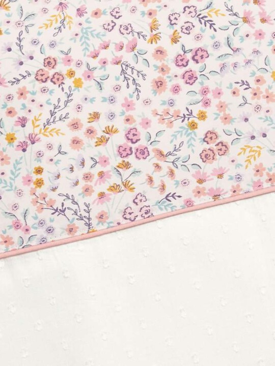 Lilybelle Tie Top Curtains (132x160cm) - Pink image number 3