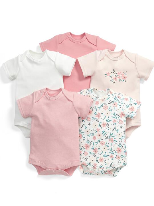 Floral Bodysuits (Set of 5) image number 1