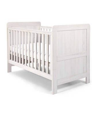 Atlas Cot/Toddler Bed - White