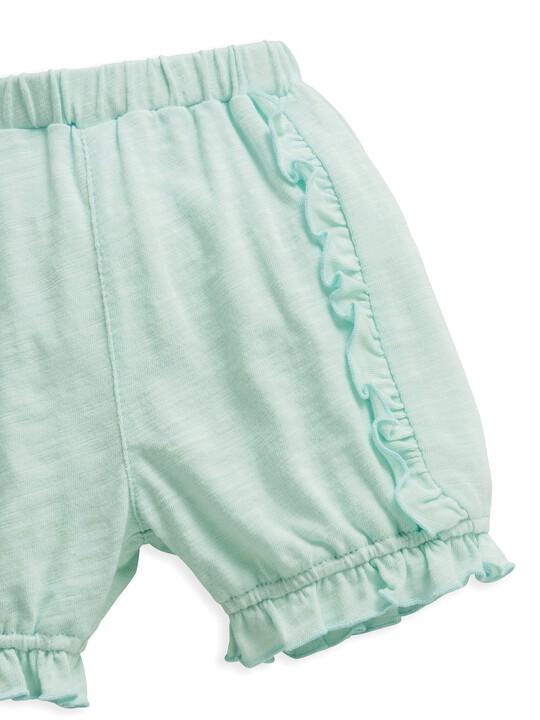 Frill Shorts Blue image number 6