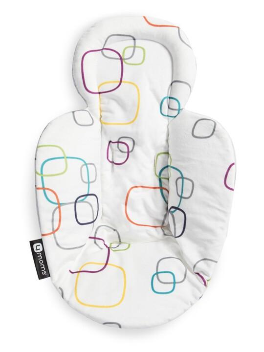 4moms New Reversible Newborn Insert - Multi Plush image number 4