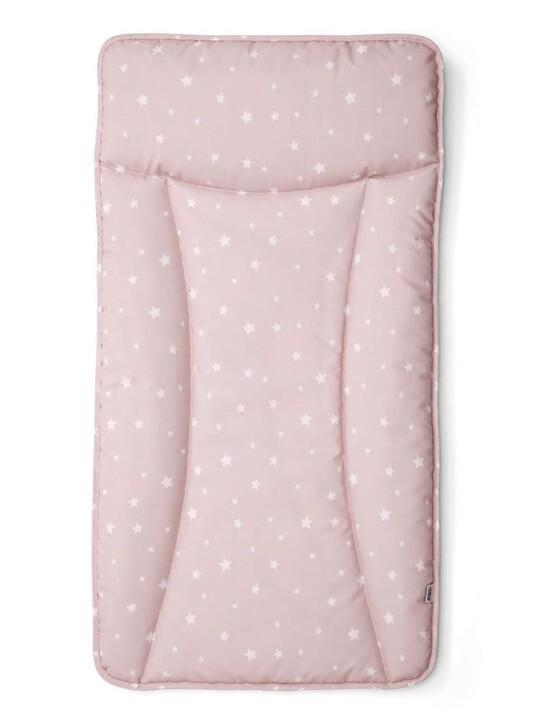 Essentials Changing Mattress - Pink Stars image number 1