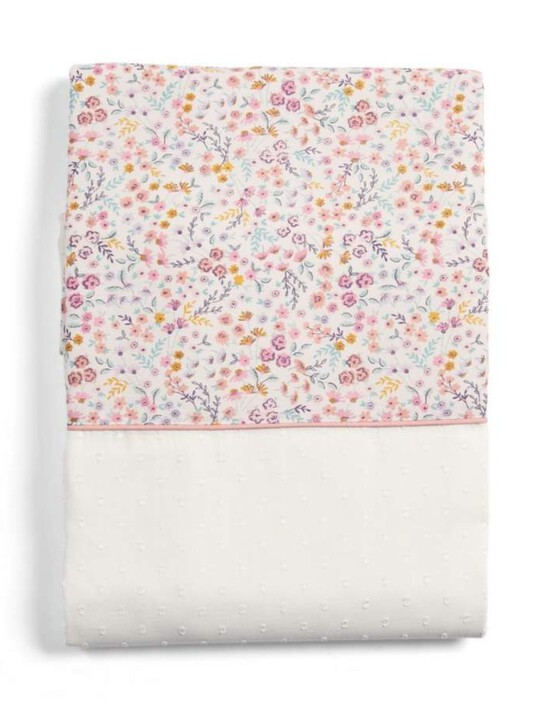 Lilybelle Tie Top Curtains (132x160cm) - Pink image number 2