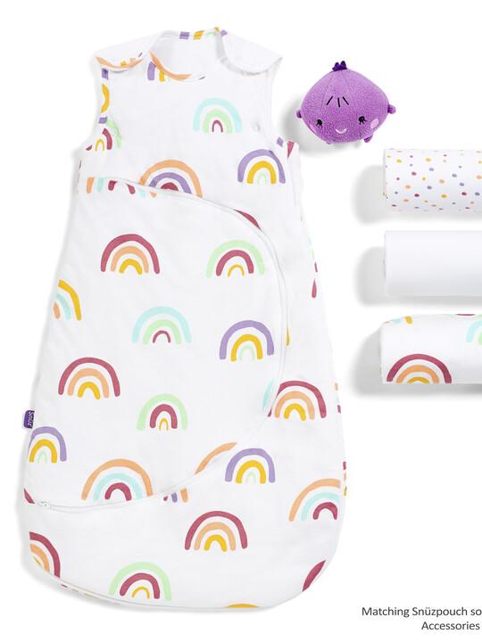 3pc Crib Bedding Set – Colour Rainbow image number 4