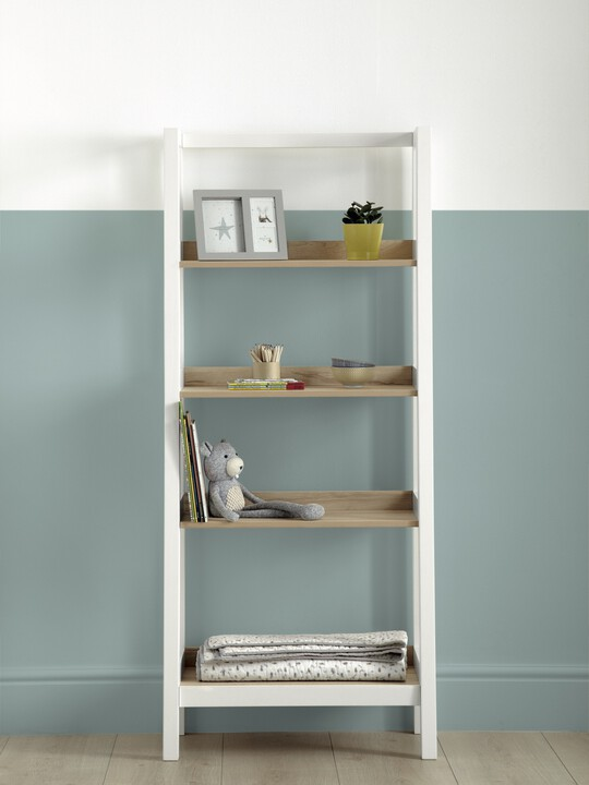 Lawson Bookcase - Natural/White image number 1