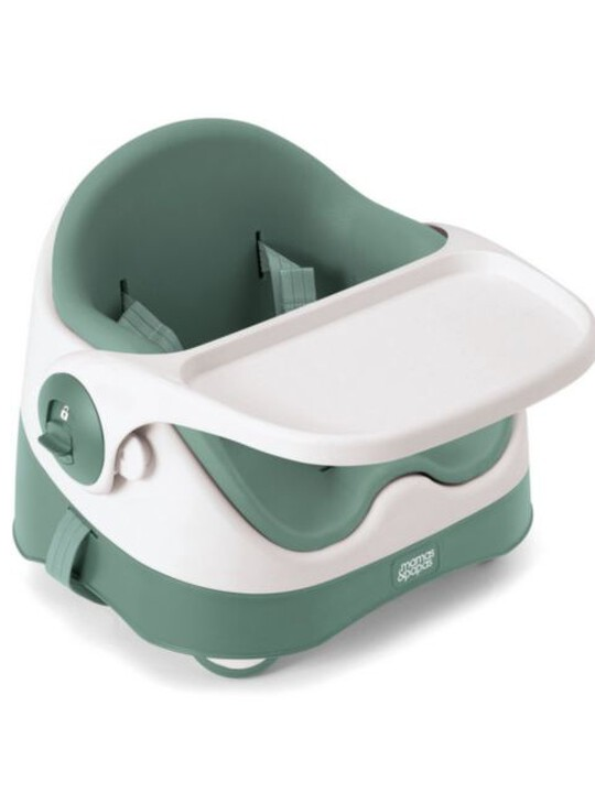 BABY BUD BOOSTER SEAT SOFT TEAL image number 2