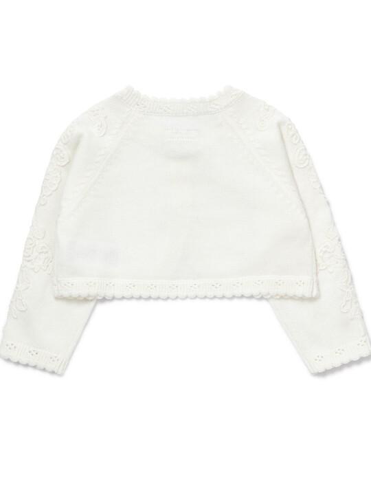 Lace Trim Cardigan image number 2