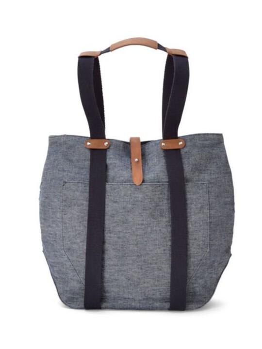 Chrissi Changing Bag - Blue Denim image number 1