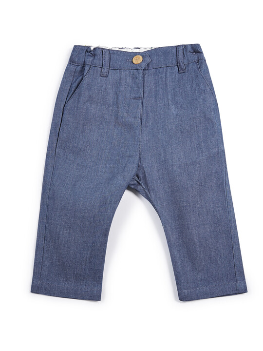 Chambray Chinos image number 1
