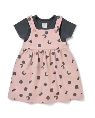 Pinny Dress & Bodysuit Set