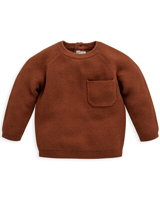 Knitted Jumper with Pocket