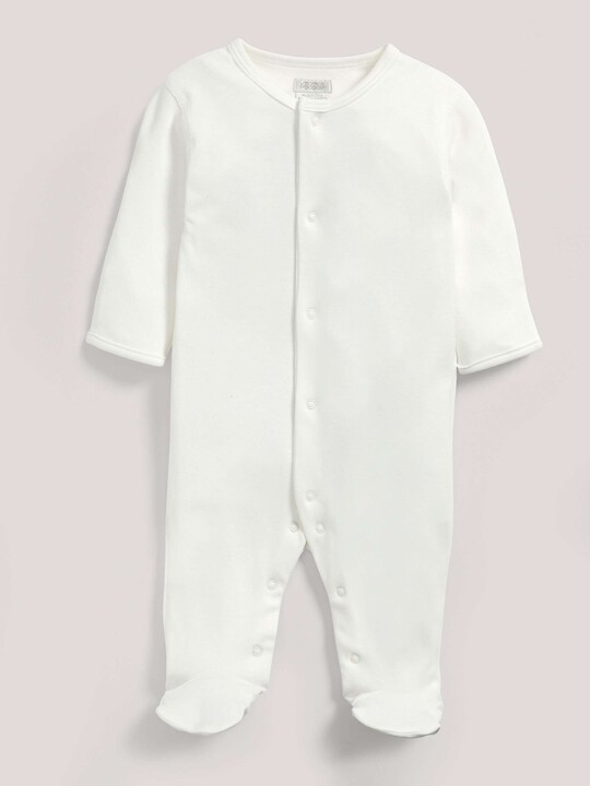 Bamboo Fabric All-In-One White- New Born image number 1