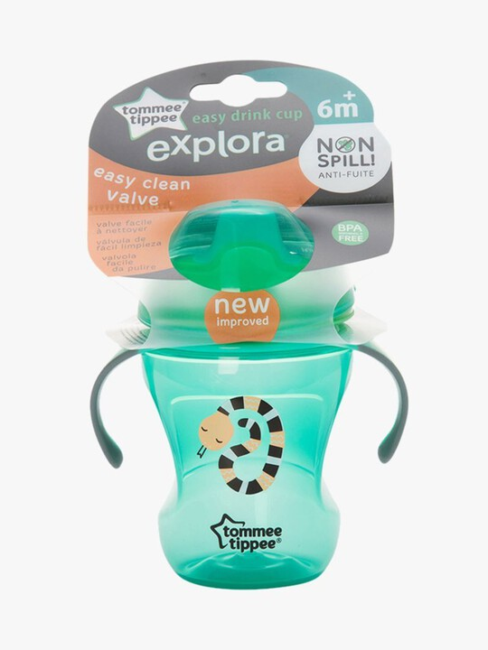 Tommee Tippee Explora 6m+ Easy Drink Cup - Green image number 2