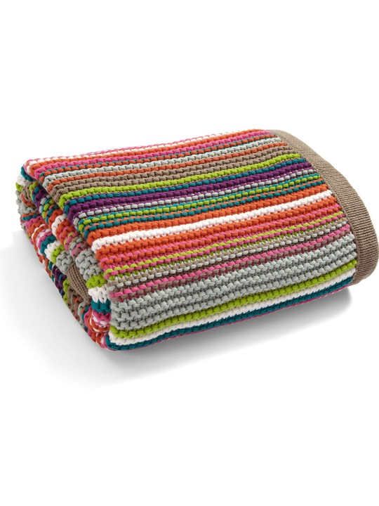 Timbuktales - Knitted Blanket - 70 x 90cm image number 2