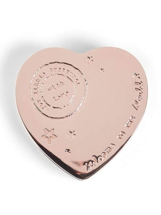 Rose Gold - Heart Trinket Box image number 1