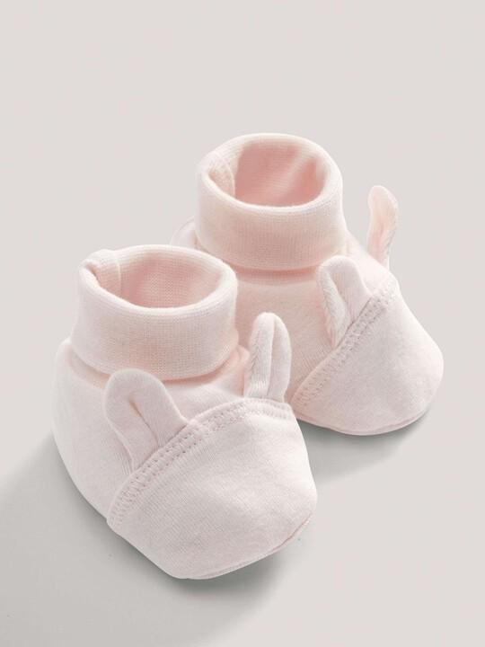 Pink Rabbit Booties image number 2