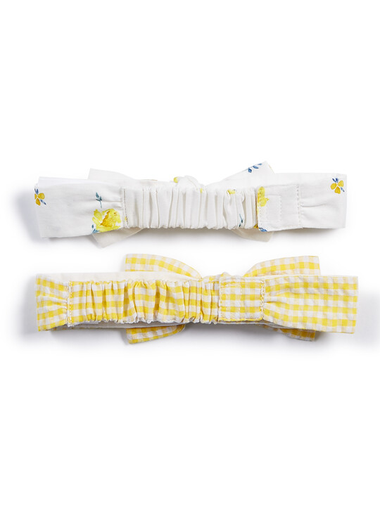 Check Headbands - 2 Pack image number 2