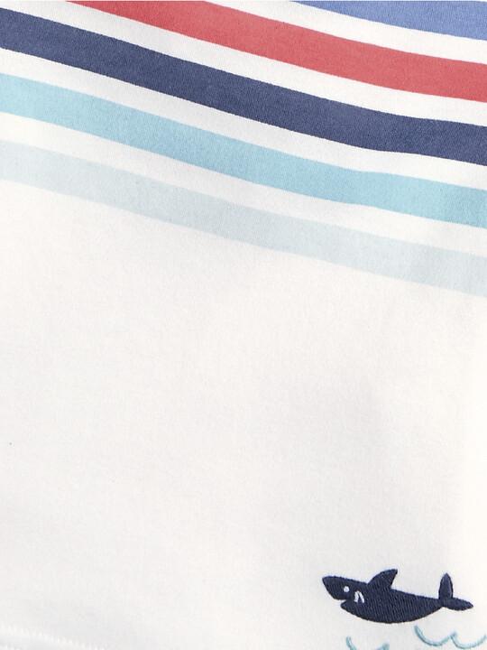 Multicoloured Stripe T-Shirt image number 3