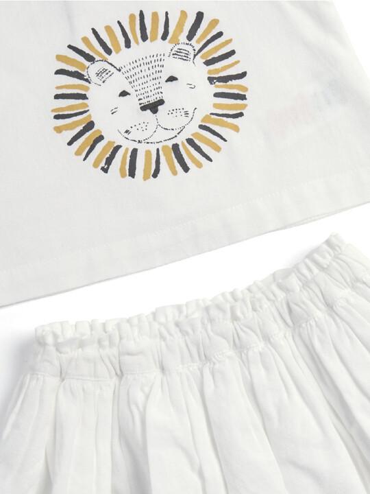 Lion Top & Skirt Set - 2 Piece image number 3