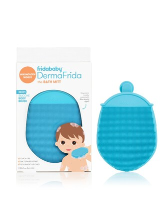 Dermafrida The Bath Mitt Silicone Body Brush