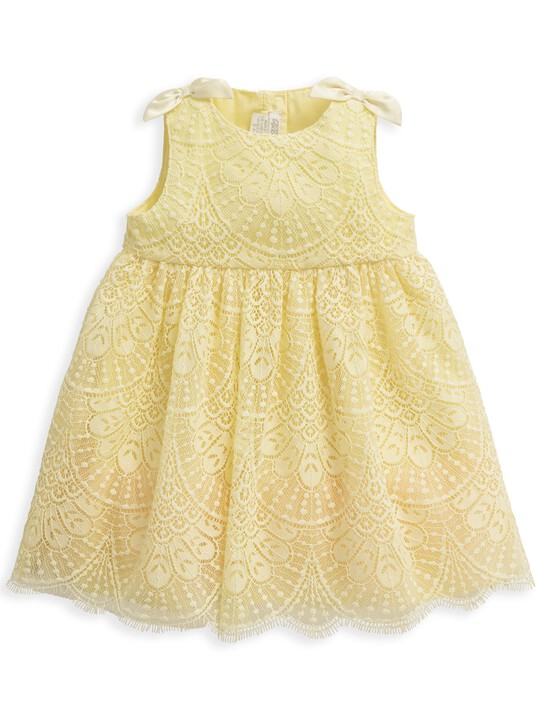 Yellow Lace Dress image number 1