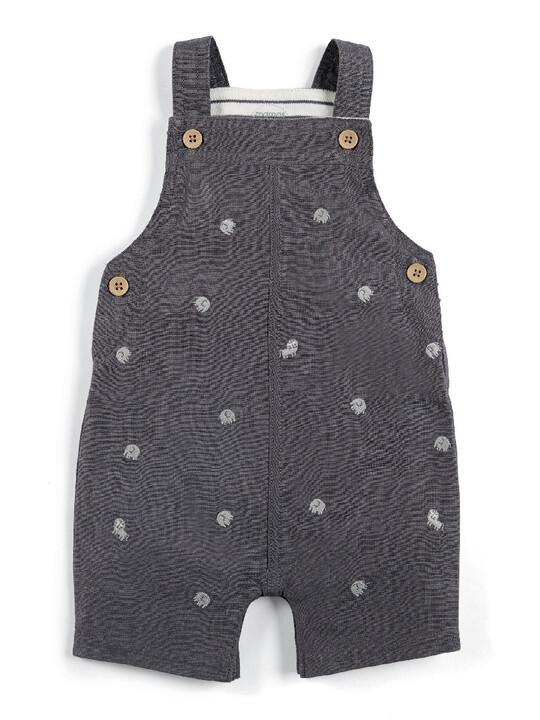 Linen Dungaree & T-Shirt Set image number 4