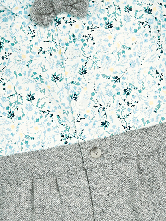 Floral Mock Romper image number 3