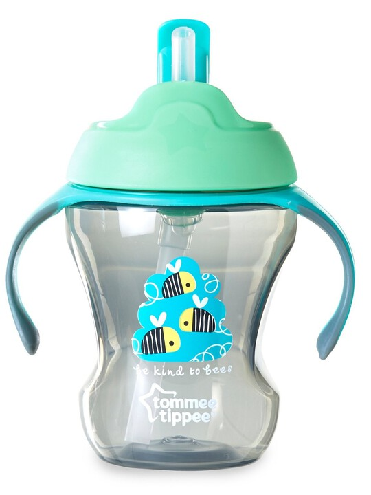 Tommee Tippee Explora 230ml Easy Drink Straw Cup - Green image number 1
