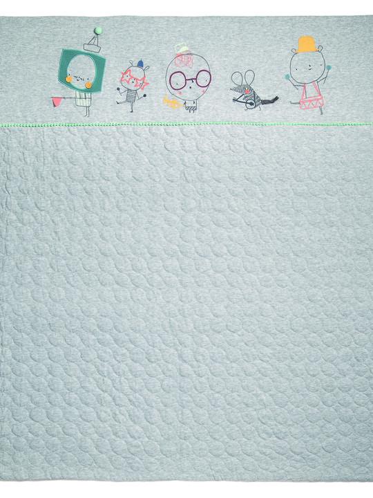 Corby Tindersticks Coverlet - Grey Marl image number 1