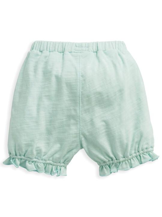 Frill Shorts Blue image number 5