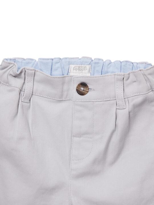 Grey Chino Shorts image number 4