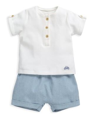 Short Sleeve T-Shirt & Shorts Set