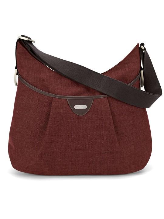 Ellis Shoulder Bag Tweed - Rust image number 2