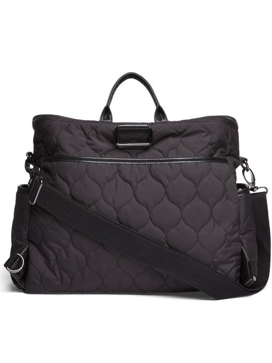 2 Way Satchel Style Changing Bag - Black image number 5