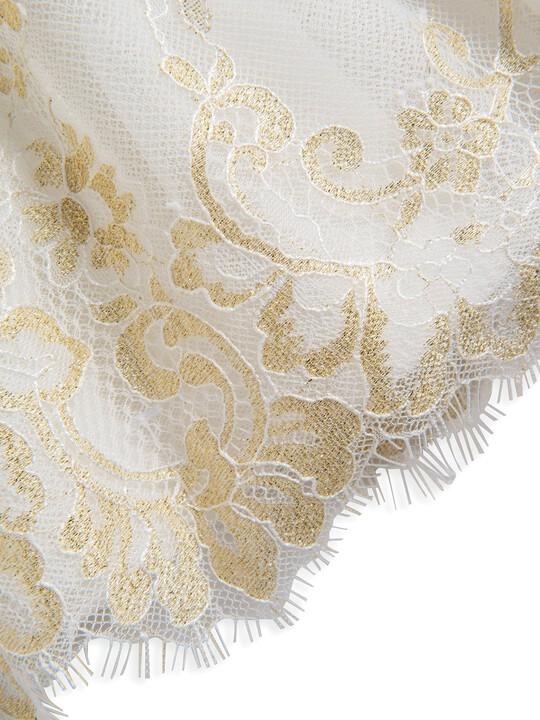Lace Scalloped Hem Dress image number 5