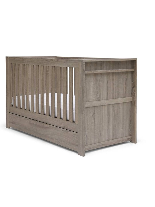 Franklin Convertible Cot & Toddler Bed 3 in 1 - Grey Wash image number 1