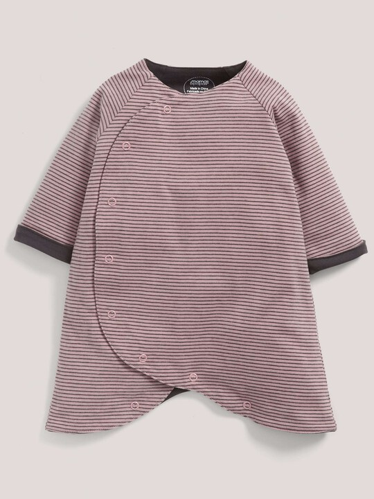 Pink Jersey Romper image number 1