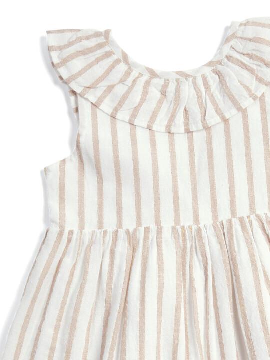 Metallic Striped Dress image number 2