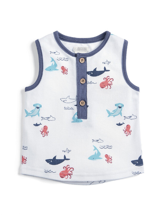 Vest Top - Sea Creatures image number 4