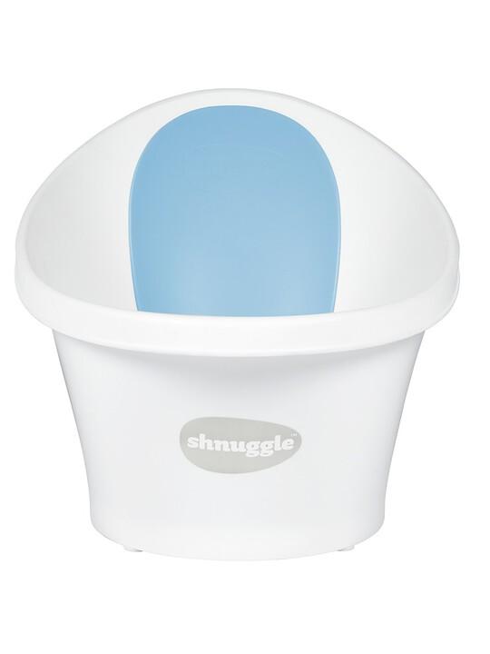 Shnuggle Bath - White with Blue image number 1