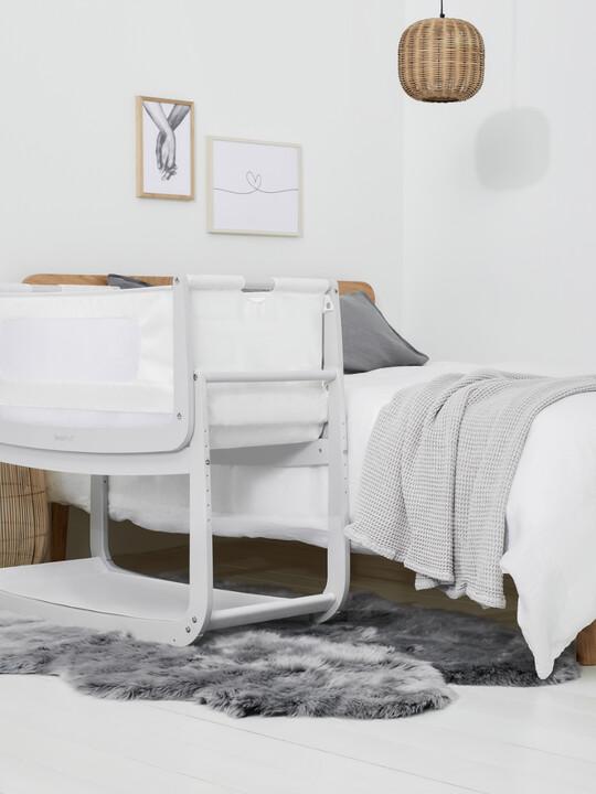 SnuzPod4 Bedside Crib - Haze Grey image number 6