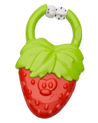 Infantino- Vibrating Teether - Strawberry