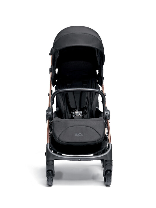 Airo Dusk with Rose Gold Frame Pushchair with Black Newborn Pack image number 6